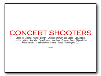 Concert Shooters